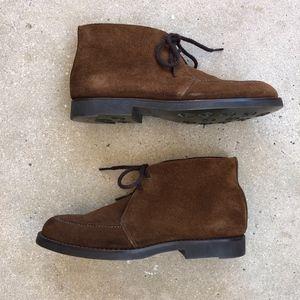 Cole Haan Brown Suede Amazonas Chukka Boots 7.5AA